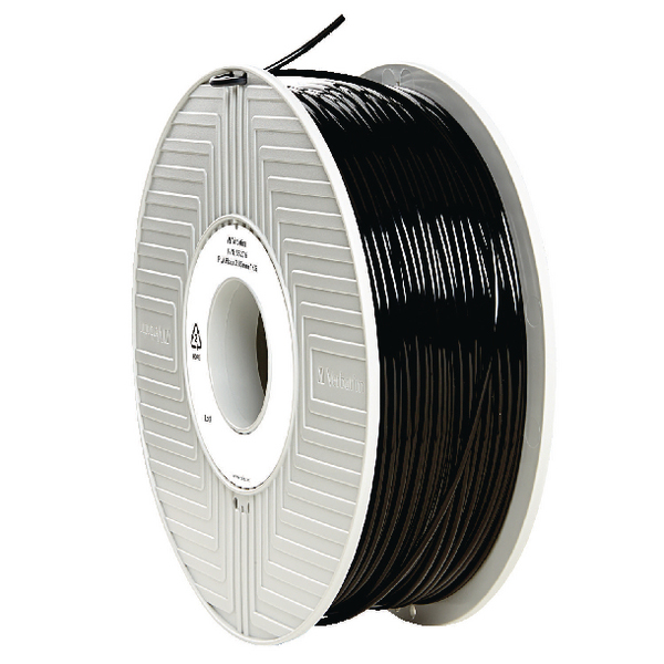 Verbatim PLA 3D Printing Black Filament 2.85mm 1kg Reel 55276