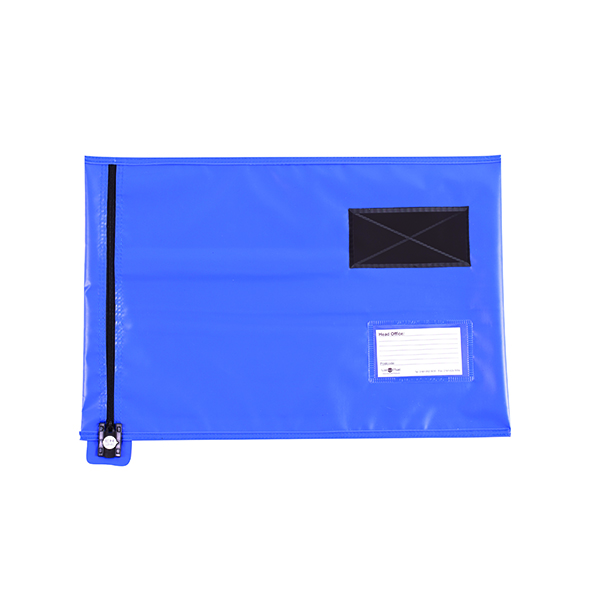Go Secure Lightweight Security A3 Pouch Blue CVF3