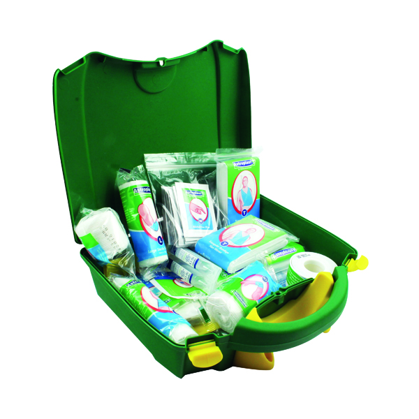 Wallace Cameron Green Box Vehicle First Aid Kit 1020105
