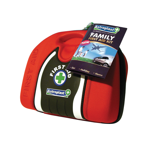 Astroplast Red Family First Aid Kit Pouch 1015016
