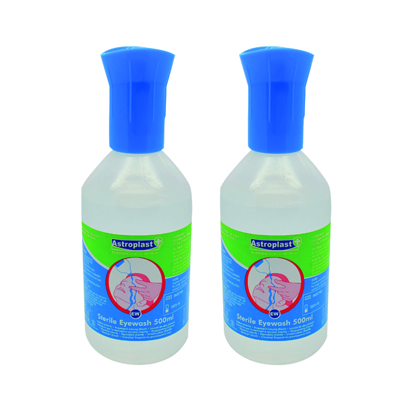 Wallace Cameron 500ml Sterile Eye Wash (2 Pack) 2405093