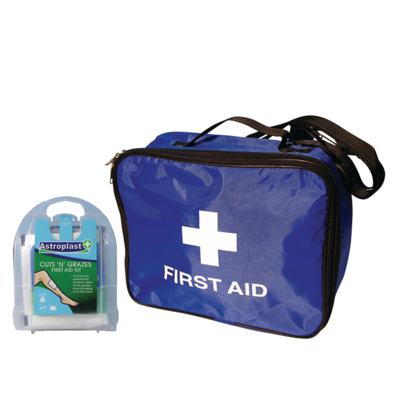 Astroplast First Aid Response Bag With Free Micro Cuts N' Grazes First Aid Kit 1024022PR