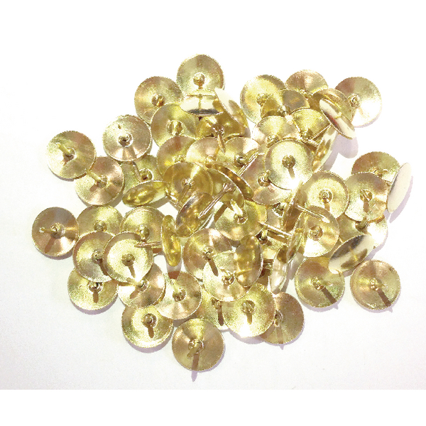 Brass Drawing Pins 12.5mm (1000 Pack) 34251