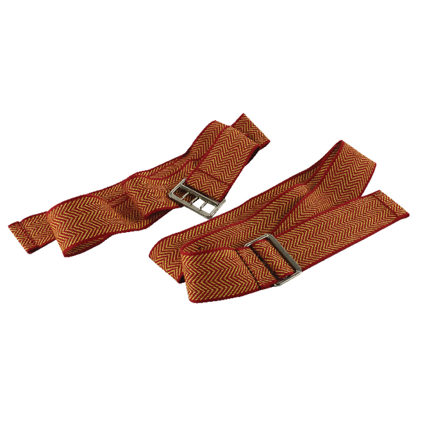Document Strap With 3-Pronged Buckle 900mm Red and Gold (6 Pack) STRAPSRED/YE