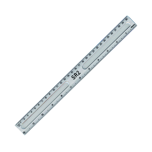 Clear Ruler 30cm (20 Pack) 801697