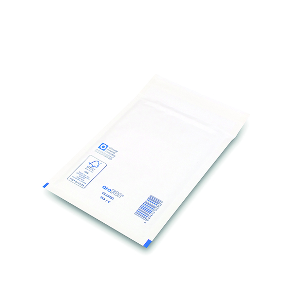 Bubble Lined Envelope Size 3 150x215mm White (100 Pack) XKF71448