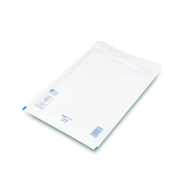 Bubble Lined Envelope Size 7 230x340mm White (100 Pack) XKF71451