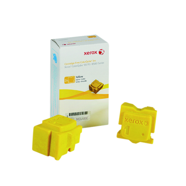Xerox ColorQube 8570 Yellow Ink Stick 4.4K (2 Pack) 108R00933