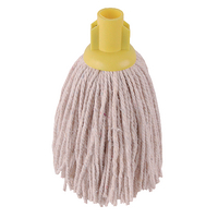 2Work 14oz PY Smooth Socket Mop Yellow Pack of 10 PJYY1420I