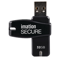 Imation Secure Software Encryption Flash Drive 32GB i25893