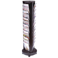 Alba A4 Rotary 39 Compartment Mobile Display Unit Carousel DDTOWER
