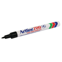 Artline 700 Permanent Marker Fine Black Bullet Tip (Pack of 12) A7001