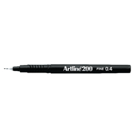 Artline 200 Fineliner Black A2001