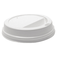 35cl White Lids For Rippled Hot Cup (Pack of 1000) HHLIDS12