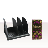 Avery Desktop Bookrack Black with FOC Chocolate