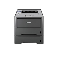 Brother HL-6180DWT High Speed Mono Laser Printer with Barcode Support Grey HL6180DWTU2