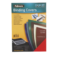 Fellowes Delta Royal Blue Leather Board Covers A4 (Pack of 100) 5371301
