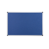 Bi-Office Fire Retardant Notice Board 1800x1200mm