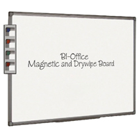 Bi-Office Aluminium Finish Magnetic Board 2400x1200mm MB1406186