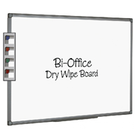 Bi-Office Aluminium Finish 900x600mm Drywipe Board MB0712186