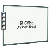 Bi-Office Aluminium Finish Drywipe Board 1800x1200mm MB8512186