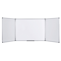 Bi-Office Trio Board 1200x900mm Non Magnetic Dry Erase TR02010302170