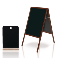 Bi-Office A-Frame Chalkboard plus FOC Menu Holder