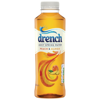Juicy Drench Peach and Mango 500ml PET (Pack of 24) 978104