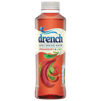 Juicy Drench Strawberry and Lime 500ml PET (Pack of 24) 978106