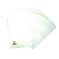 Elba A4 20 Part 160gsm White Dividers 400007500