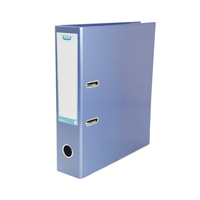 Elba Classy Lever Arch File A4 70mm Metallic Blue 5 for 3