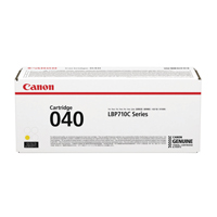Canon 040 Yellow Standard Yield Toner Cartridge 0454C001