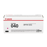 Canon 040 Magenta Standard Yield Toner Cartridge 0456C001