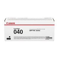 Canon 040 Black Standard Yield Toner Cartridge 0460C001