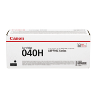 Canon 040H Black High Yield Toner Cartridge 0461C001