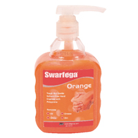 Deb Swarfega Orange Hand Cleaner 450ml Pump Bottle (Pack of 6) SOR400MP