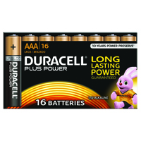 Duracell Plus AAA Battery (Pack of 16) 81275415