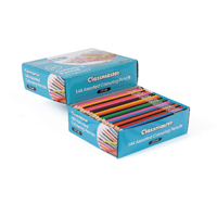 Classmaster Assorted Classroom Colouring Pencils (Pack of 144) CP144