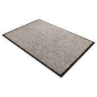 Floortex Black and White Doortex Dust Control Door Mat 600x900mm 46090DCBWV