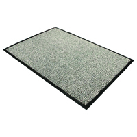 Doortex Black and White Dust Control Door Mat 900x1200mm 49120DCBWV