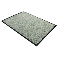 Doortex Black and White Dust Control Door Mat 900x1500mm 49150DCBWV