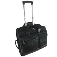 Falcon Mobile Laptop Trolley Case 15.6 Inch Black 2563
