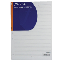 Filofax A4 Ruled Paper White 293008 (Pack of 20)