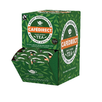 Cafedirect Fairtrade Tea Dispenser With 300 Tag and Envelope Tea Bags FTB0008