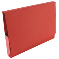 Guildhall Red Pocket Legal Wallet Pack of 50 PW3-RED