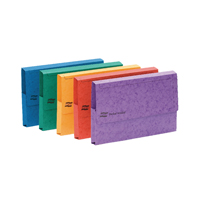 Europa A3 Document Wallet 32mm Capacity Assorted (Pack of 25) 4780