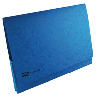 Europa A3 Blue Document Wallet Pack of 25 4785
