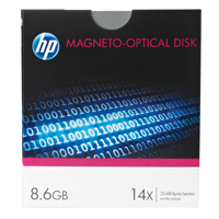 HP Magneto Optical Disks 9.1GB Re-Writable 14x Speed C7983A