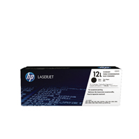 HP 12L Black Economy Toner Cartridge Q2612L