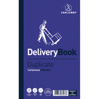 Challenge Duplicate Delivery Book Carbonless 100 Sets 210 x 130mm Pack of 5 100080470